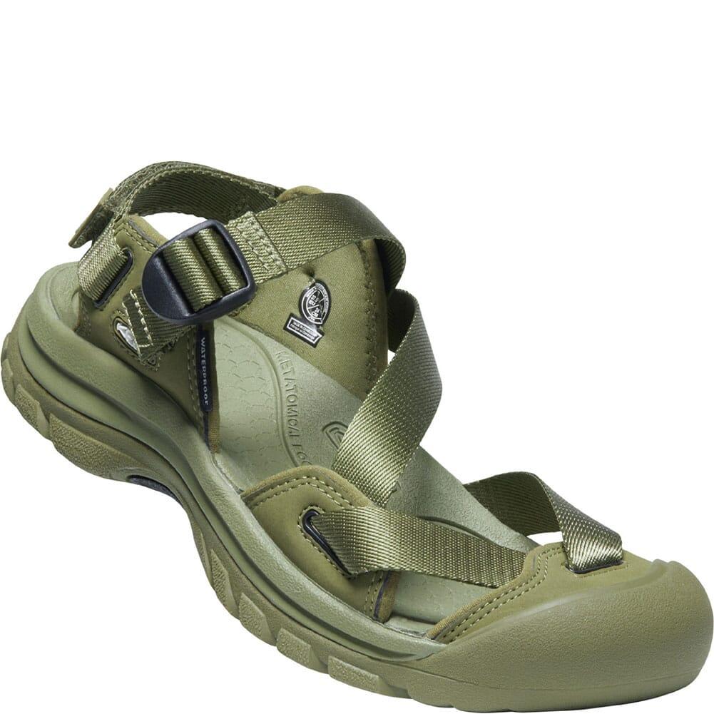 Image for KEEN Women's Zerraport II Sandals - Olive Drab/Black from bootbay