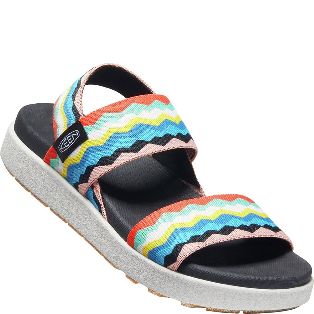 Image for KEEN Women's Elle Backstrap Sandals - Black/Peach Pearl from bootbay