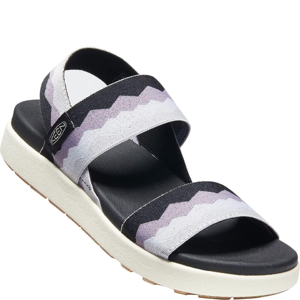 Image for KEEN Women's Elle Backstrap Sandals - Black/Thistle from elliottsboots