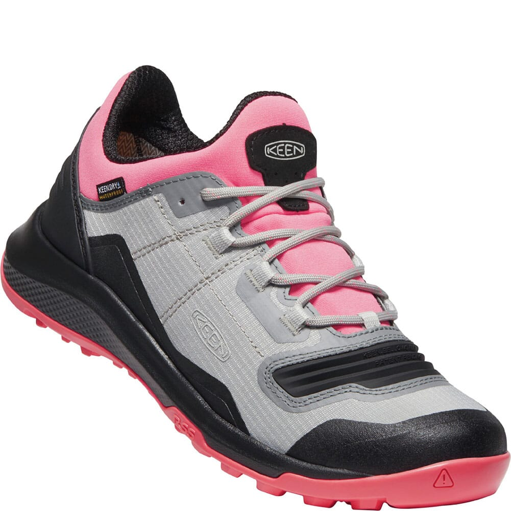 Image for KEEN Women's Tempo Flex WP Hiking Shoes - Dubarry/Black from elliottsboots