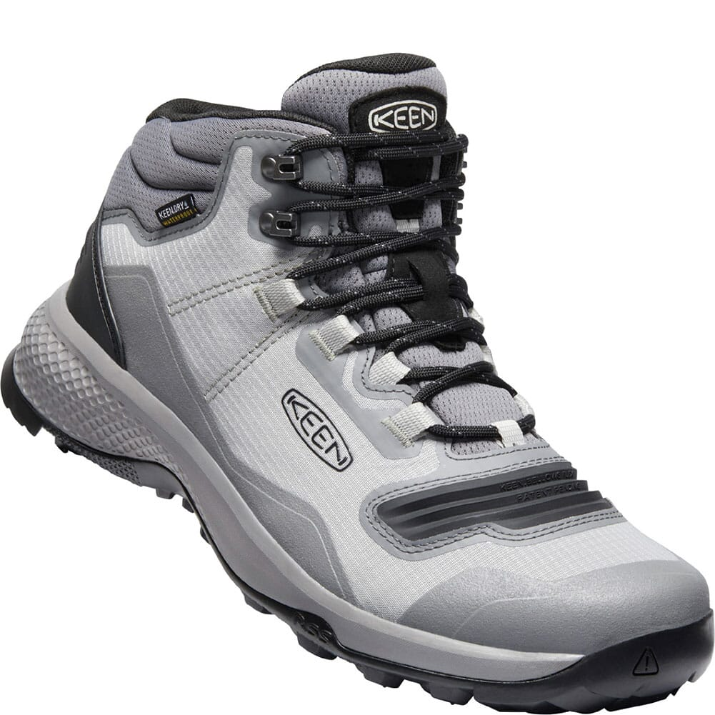 Image for KEEN Men's Tempo Flex WP Hiking Boots - Drizzle/Black from bootbay