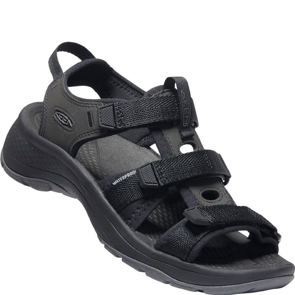 Image for KEEN Women's Astoria West Open Toe Sandals - Black from bootbay