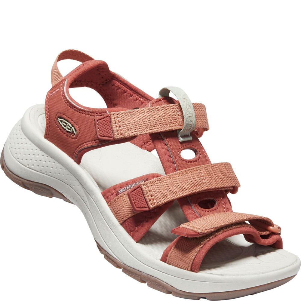 Image for KEEN Women's Astoria West Open Toe Sandals - Redwood/Pheasant from elliottsboots