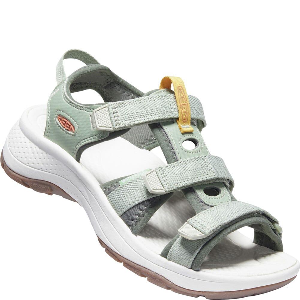 Image for KEEN Women's Astoria West Open Toe Sandals - Desert Sage/Castor Grey from elliottsboots