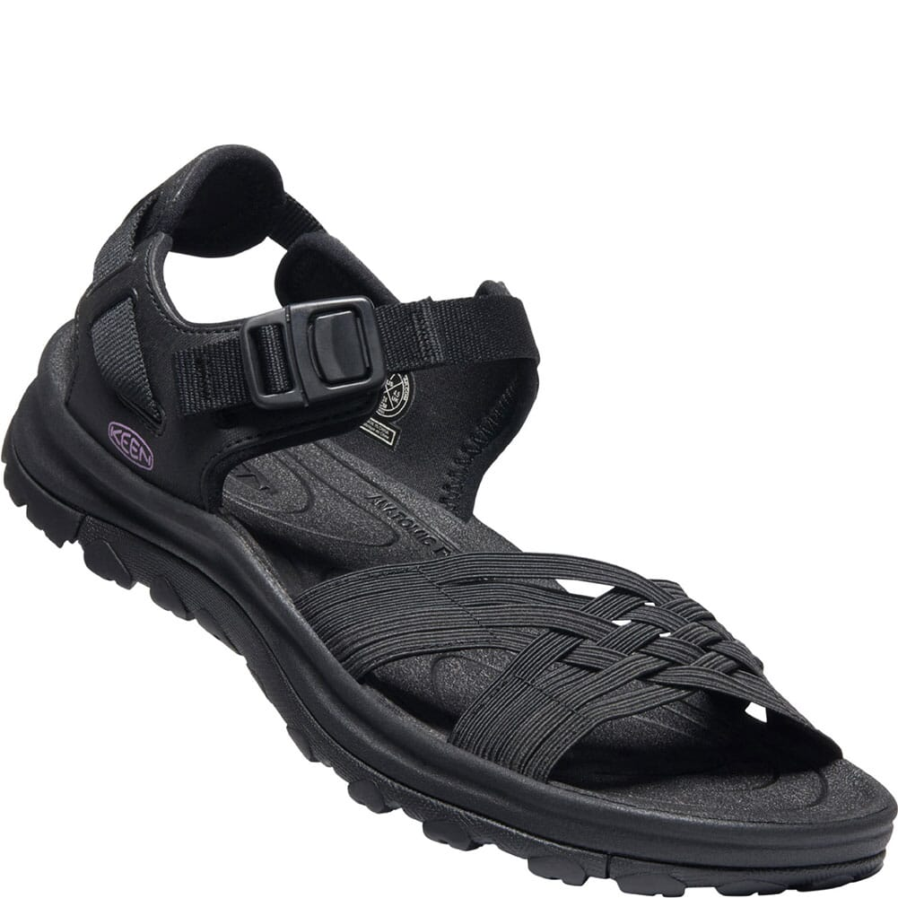 Image for KEEN Women's Terradora II Strappy Open-Toe Sandals - Black from bootbay