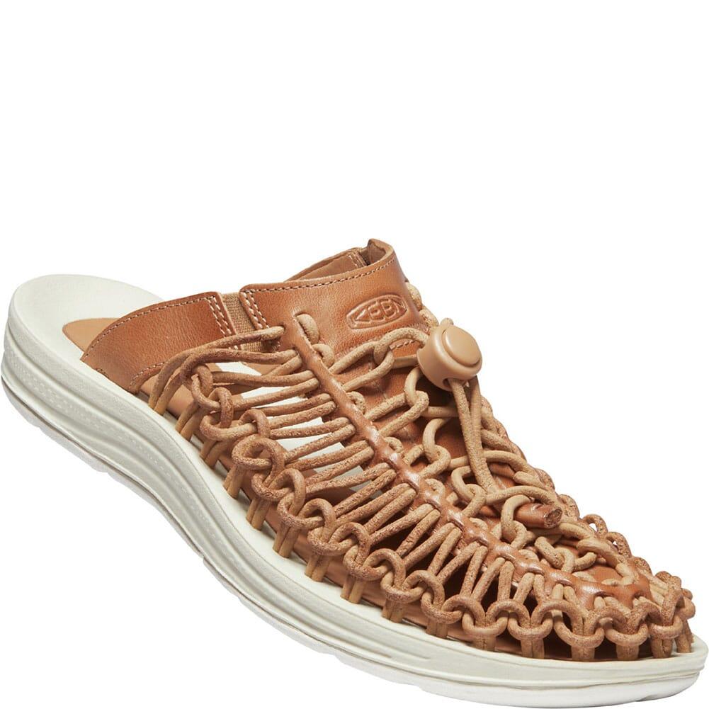 Image for KEEN Women's UNEEK Premium Leather Sandals - Cookie Dough from elliottsboots