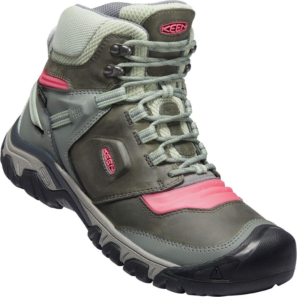 Image for KEEN Women's Ridge Flex WP Hiking Boots - Castor Grey/Dubarry from bootbay