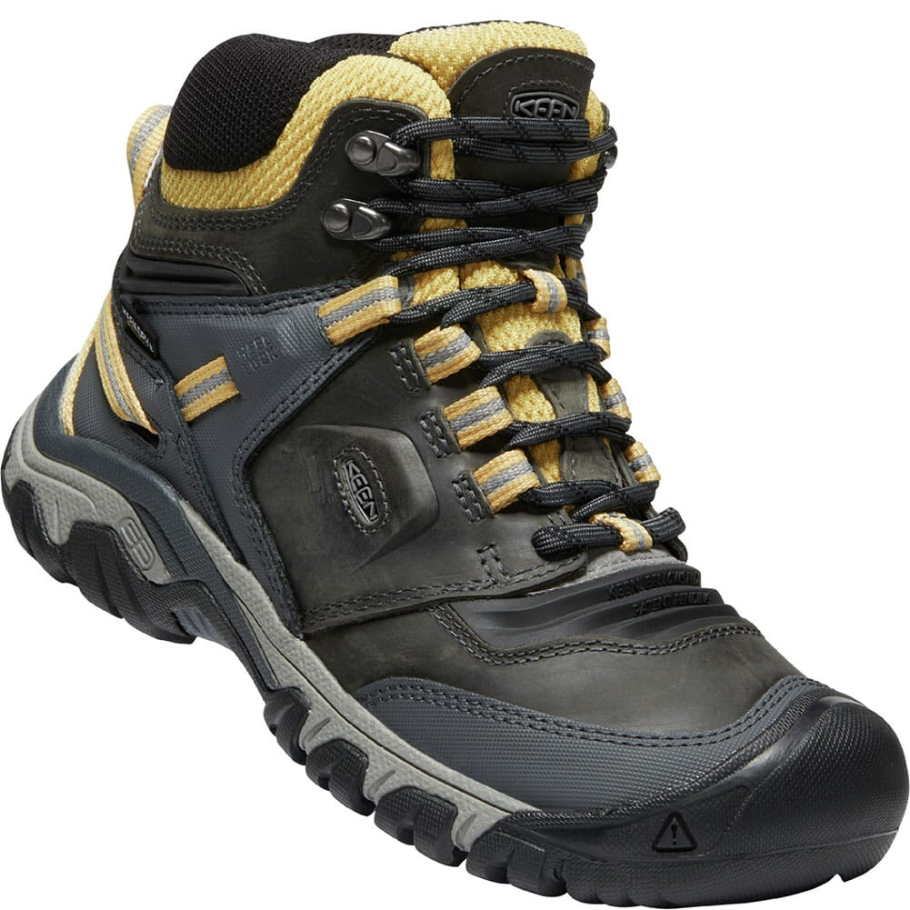 Image for KEEN Women's Ridge Flex WP Hiking Boots - Magnet/Ochre from elliottsboots