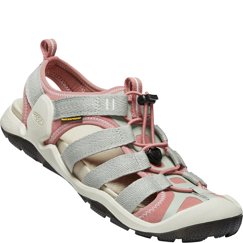 Image for KEEN Women's CNX II Sandals - Desert Sage/Brick Dust from elliottsboots