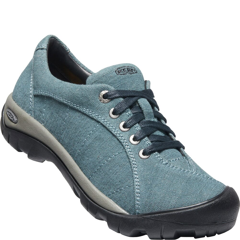 Image for KEEN Women's Presidio Canvas Casual Shoes - Blue from bootbay