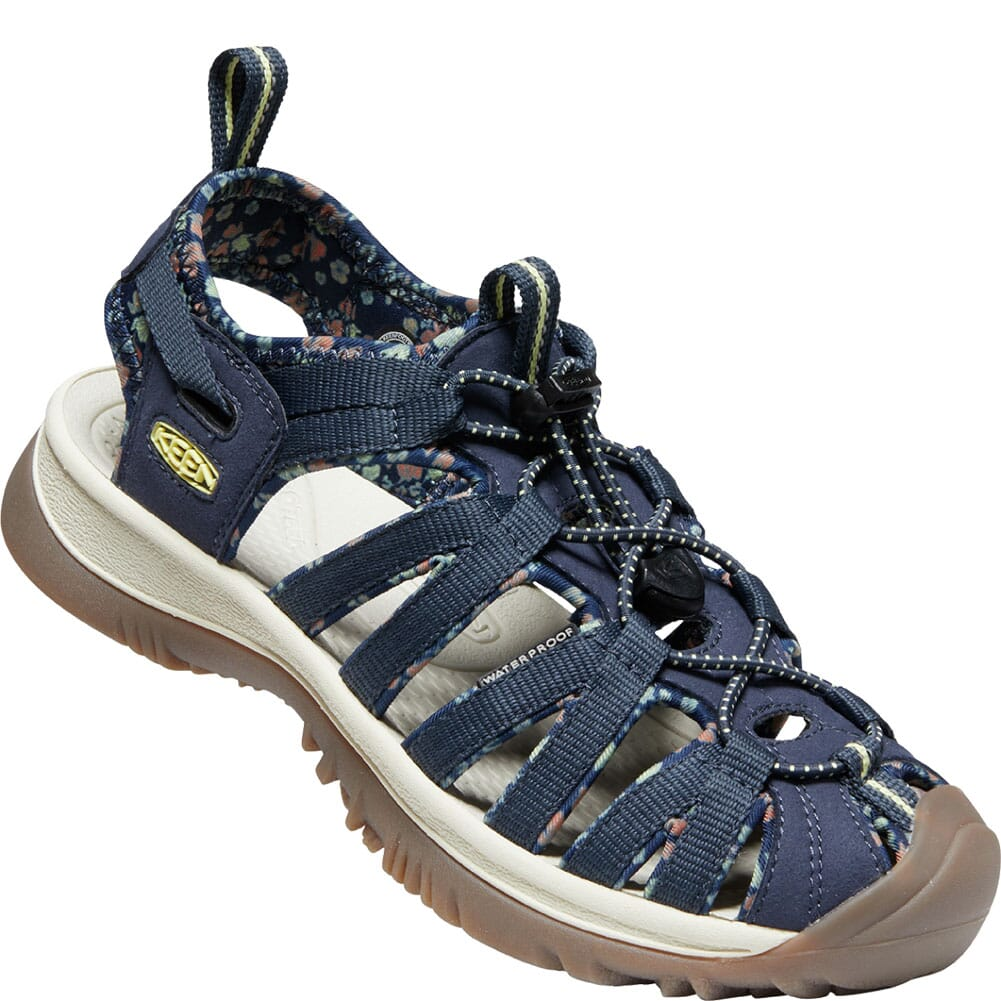 Image for KEEN Women's Whisper Sandals - Navy/Birch from bootbay