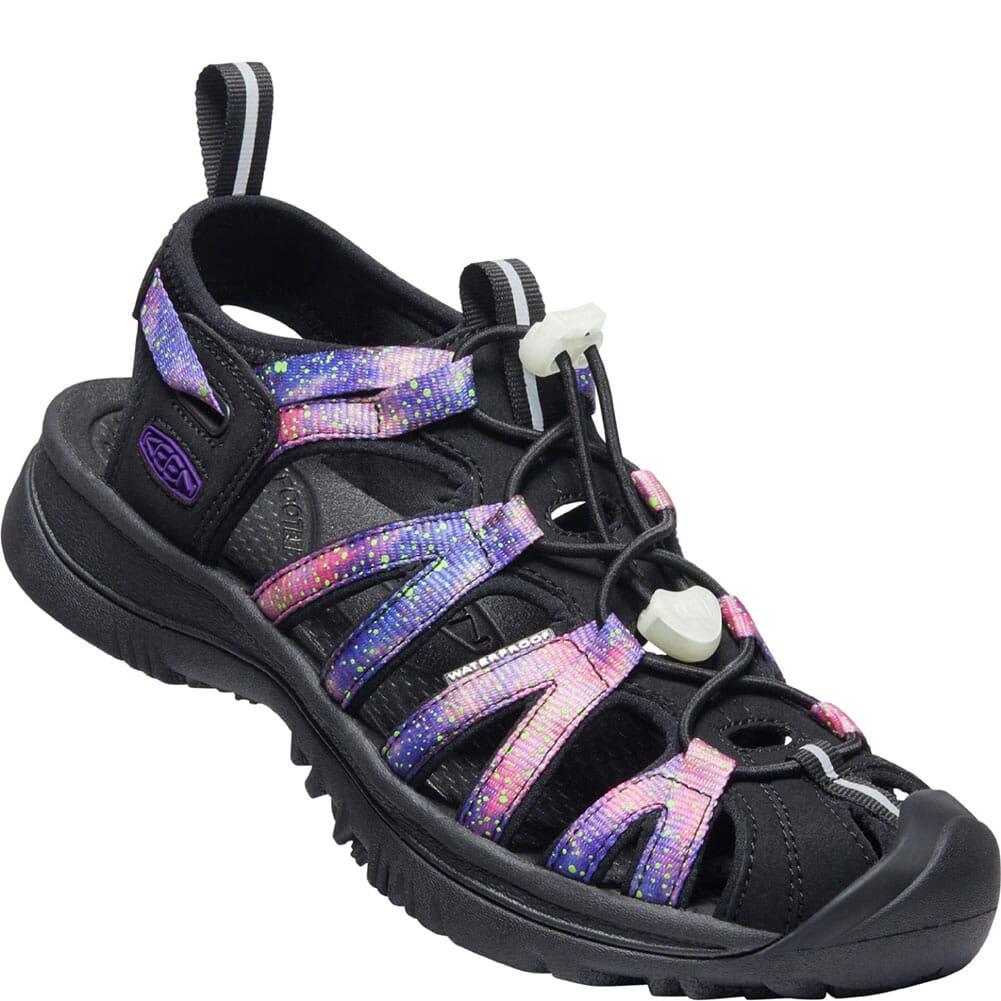 Image for KEEN Women's Whisper Sandals - Black/Purple from elliottsboots