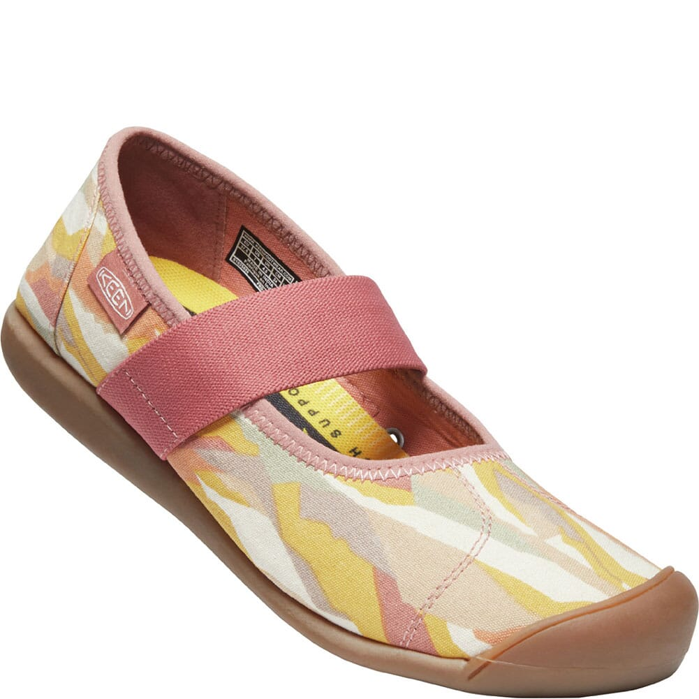 Image for KEEN Women's Sienna Canvas Mary Jane Casual Shoes - Brick Dust from bootbay