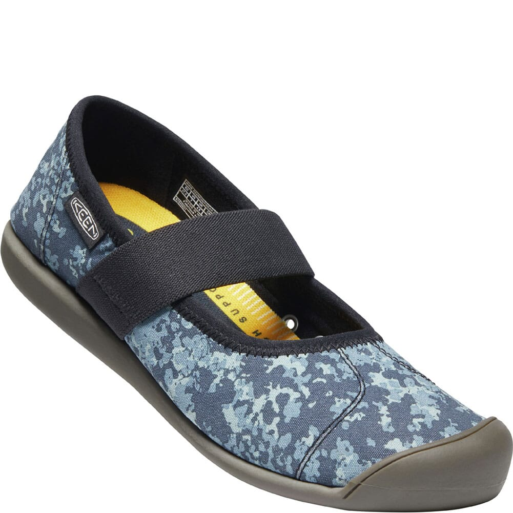 Image for KEEN Women's Sienna Canvas Mary Jane Casual Shoes - Blue from bootbay