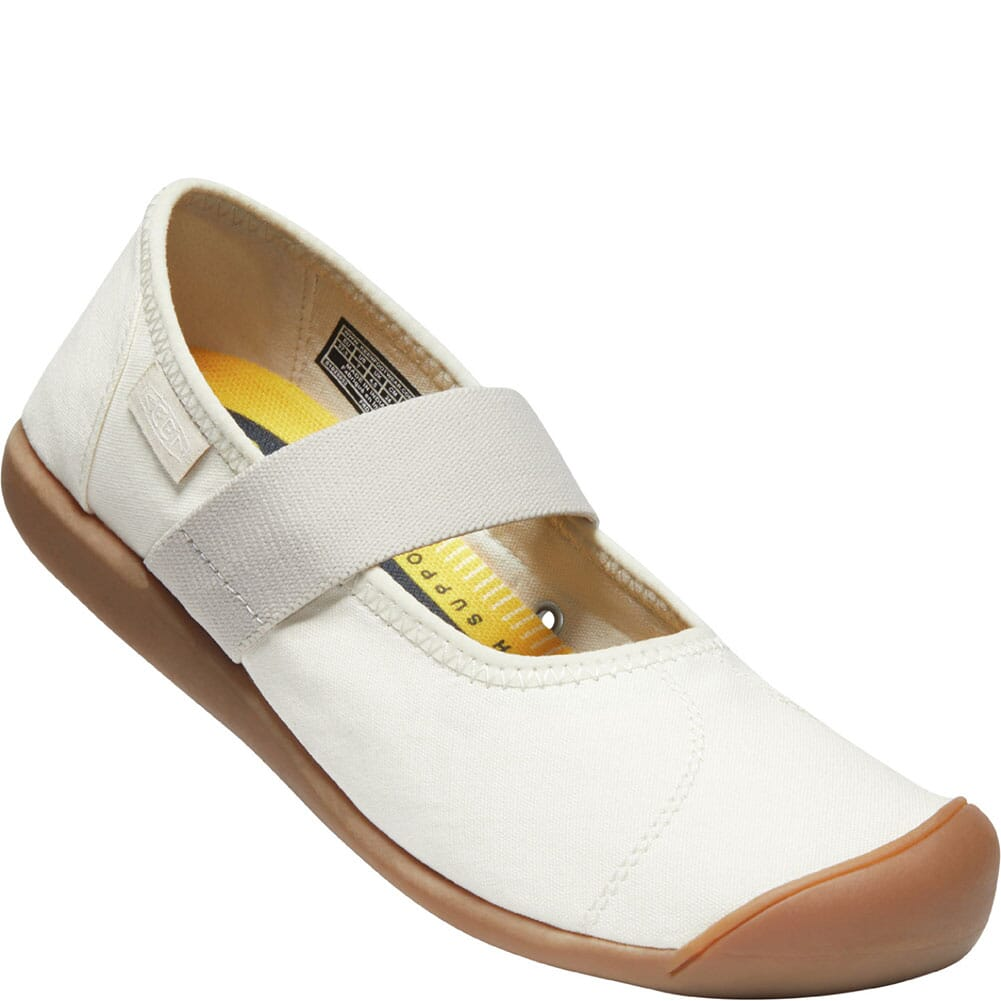 Image for KEEN Women's Sienna Canvas Mary Jane Casual Shoes - Natural from bootbay