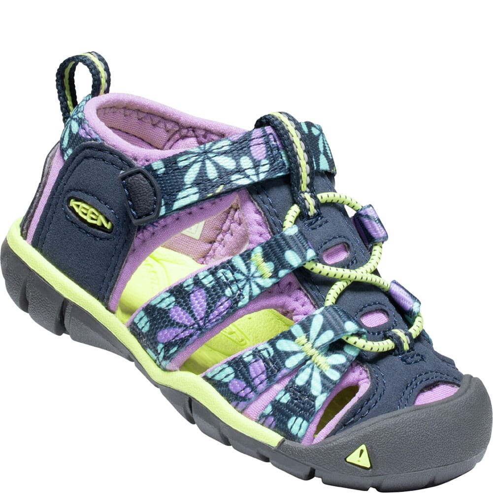 Image for KEEN Toddler's Seacamp II CNX Sandals - Black Iris/African Violet from bootbay