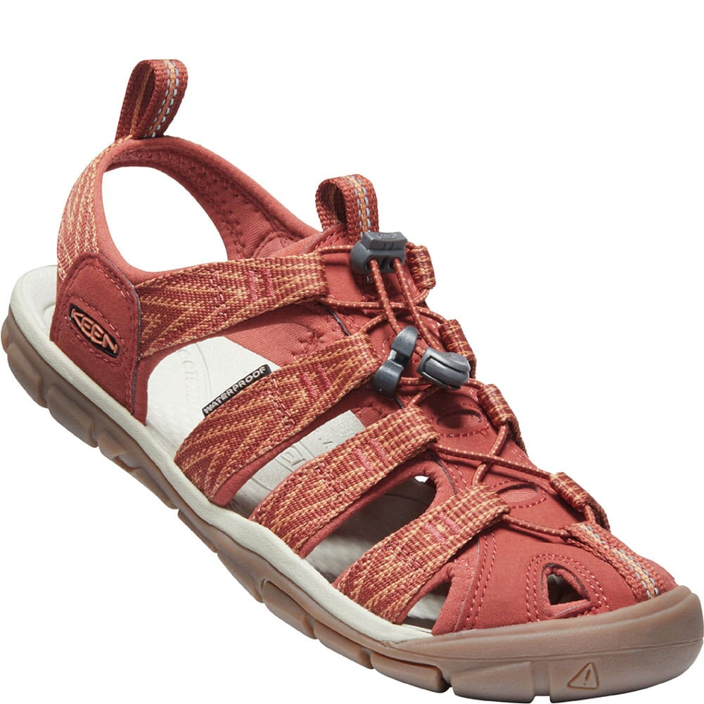 Image for KEEN Women's Clearwater CNX Sandals - Brick Dust/Pheasant from elliottsboots