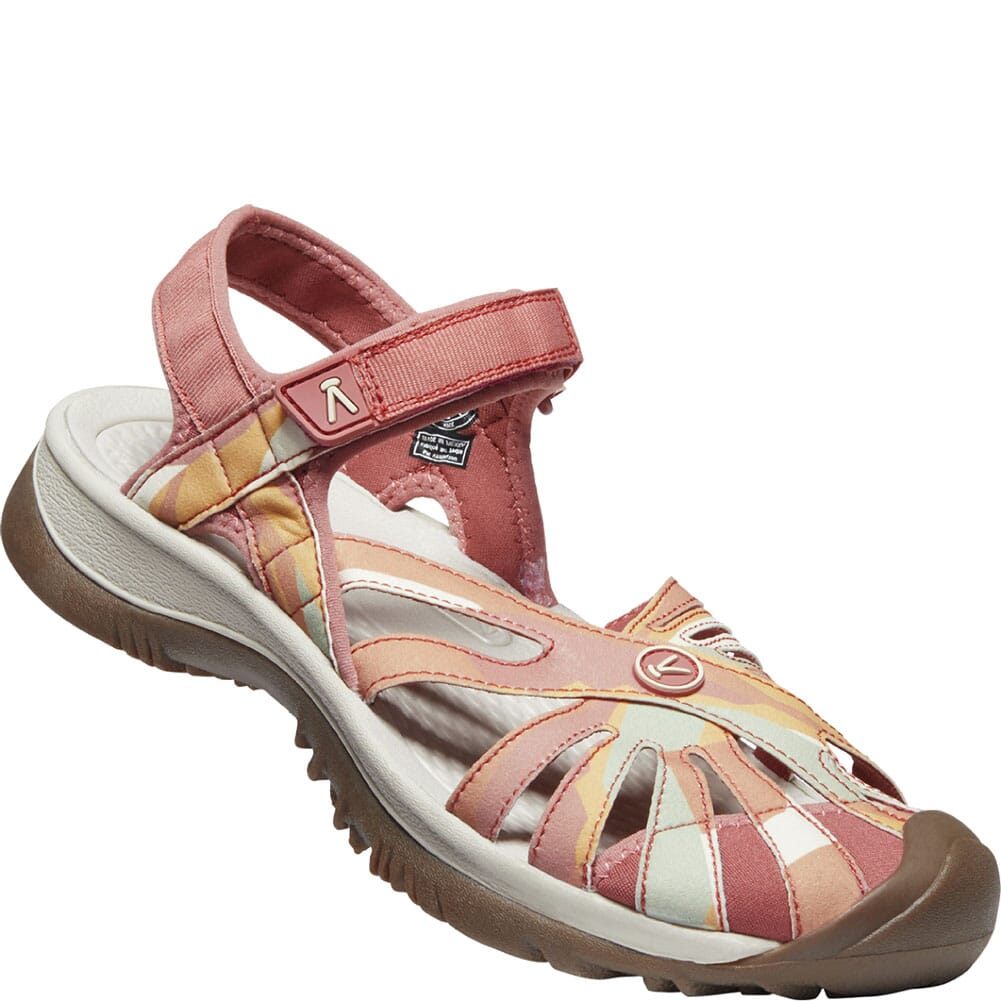 Image for KEEN Women's Rose Casual Sandals - Brick Dust/Multi from bootbay