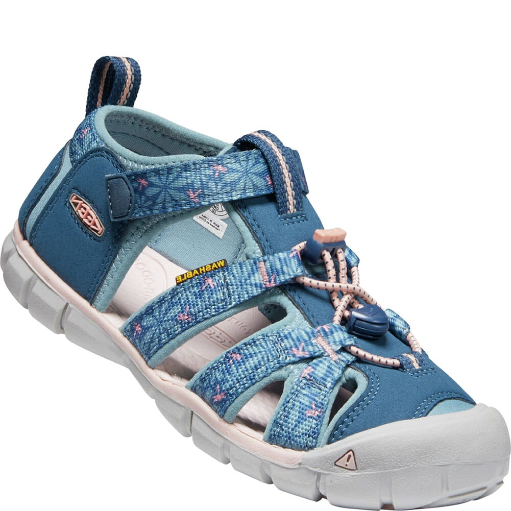 Image for KEEN Kid's Seacamp II CNX Sandals - Real Teal/Stone Blue from bootbay