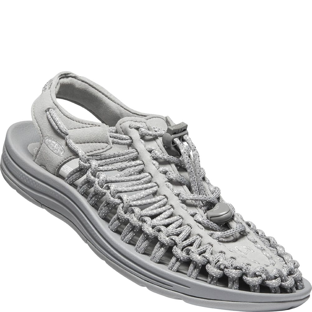 Image for KEEN Women's Uneek Sandals - Silver/Drizzle from bootbay