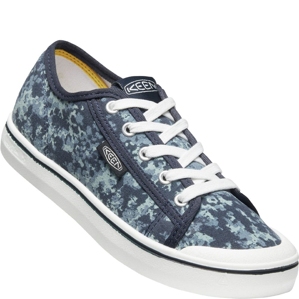 Image for KEEN Women's Elsa Lite Sneakers - Blue Nights/White from bootbay