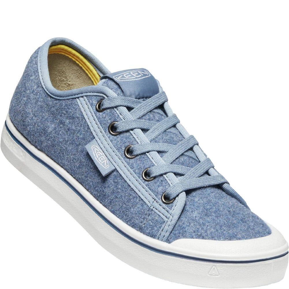 Image for KEEN Women's Elsa Lite Felt Sneakers - Blue Felt/Vapor from bootbay