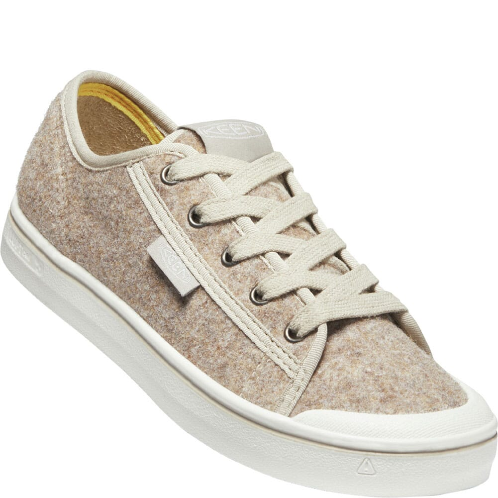 Image for KEEN Women's Elsa Lite Felt Sneakers - Taupe Felt/Silver Birch from bootbay