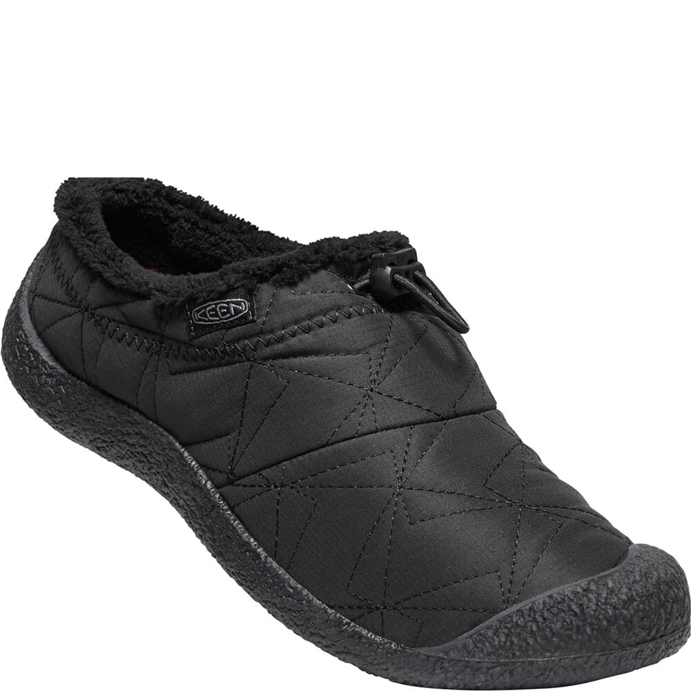 Image for KEEN Women's Howser Wool Casual Shoes - Black/Black from bootbay