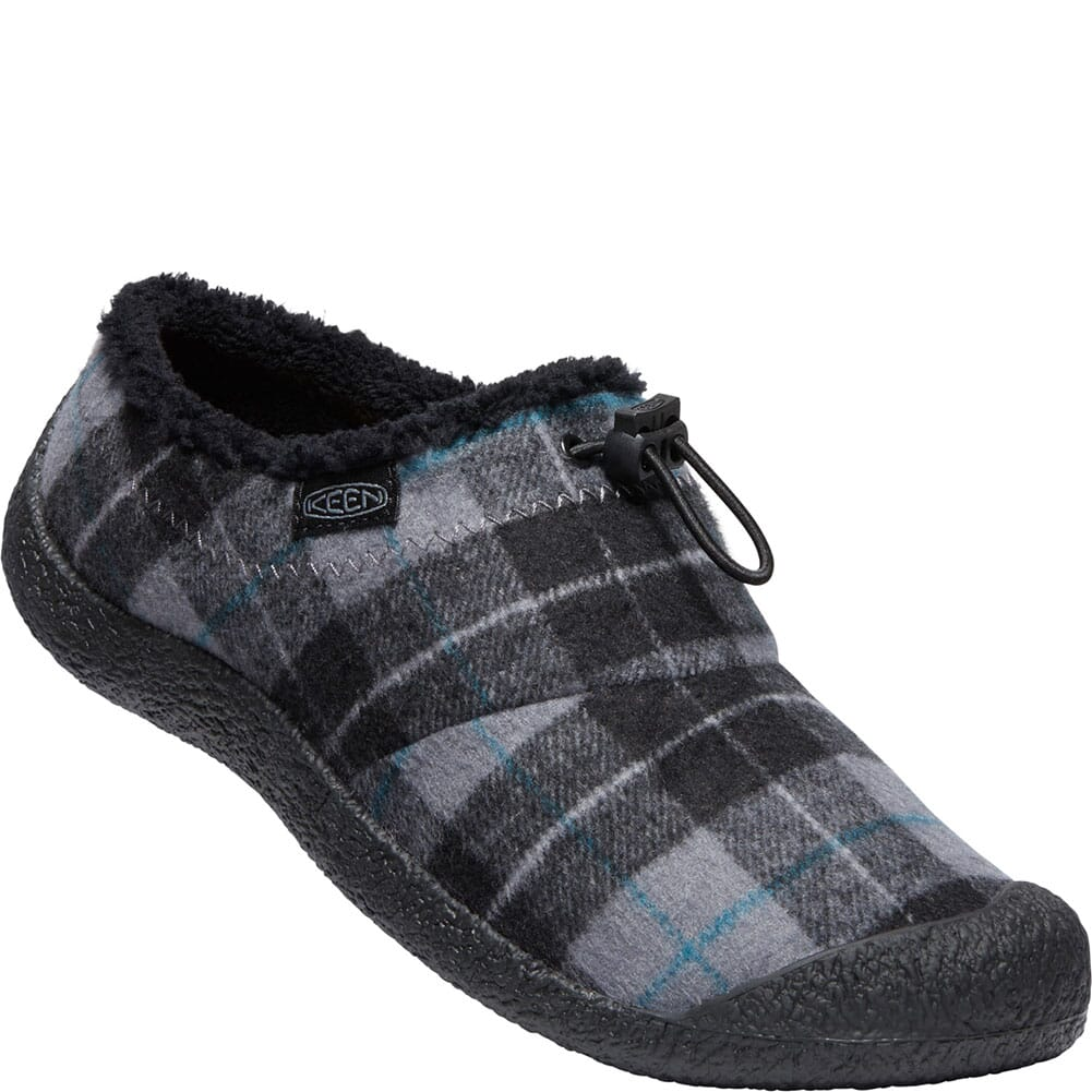 Image for KEEN Women's Howser Wool Casual Shoes - Black Plaid/Black from bootbay
