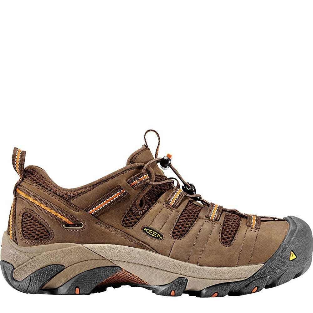 Image for KEEN Utility Men's Atlanta Cool Safety Shoes - Shitake from bootbay