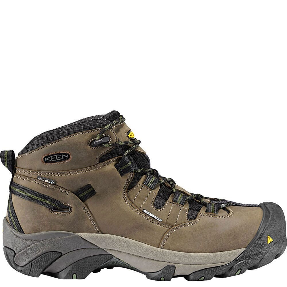 Image for KEEN Utility Men's Detroit Mid SR Safety Boots - Brindle from bootbay