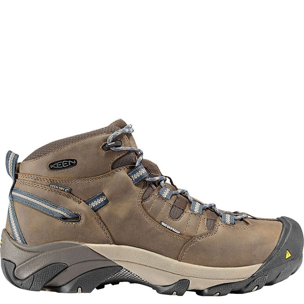 Image for KEEN Utility Men's Detroit Mid Safety Boots - Slate Black from bootbay