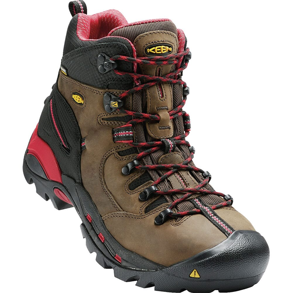 Image for KEEN Utility Men's Pittsburgh Safety Boots - Bison from bootbay