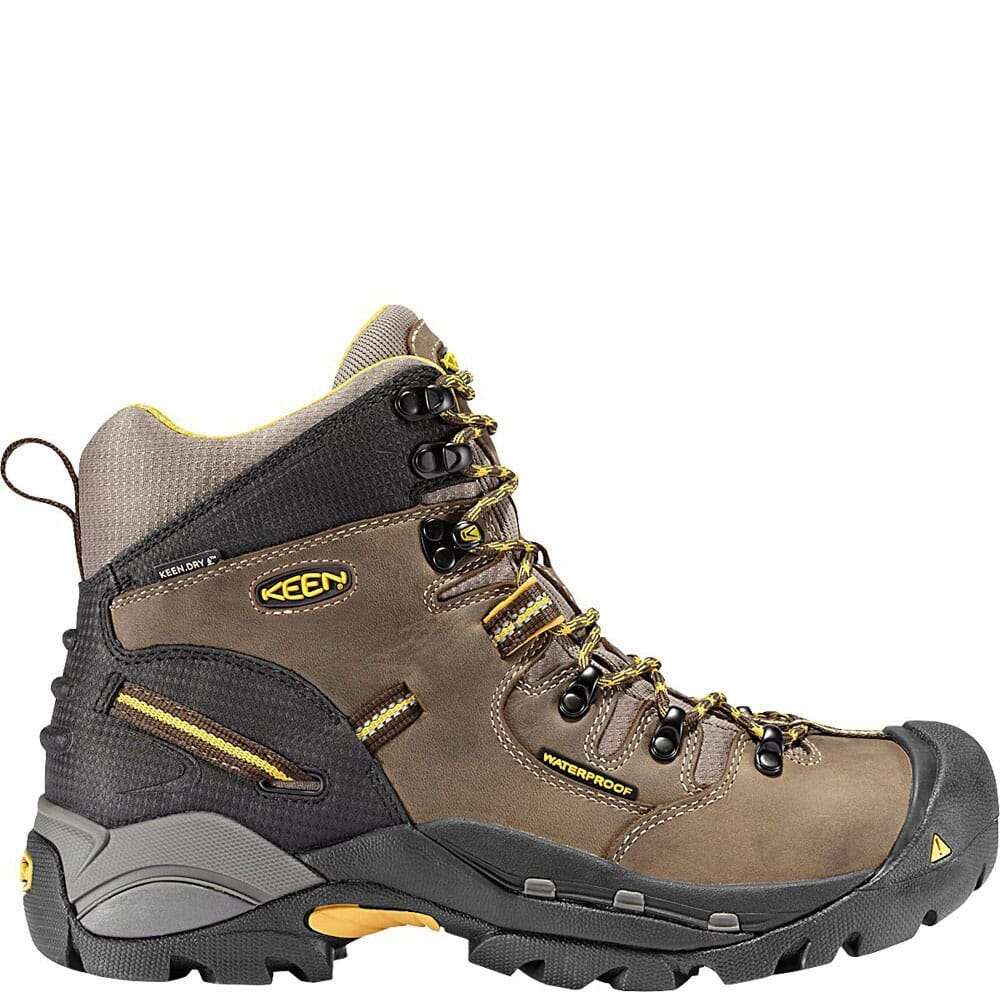 Image for KEEN Utility Men's Pittsburgh Safety Boots - Slate Black/Brown from bootbay