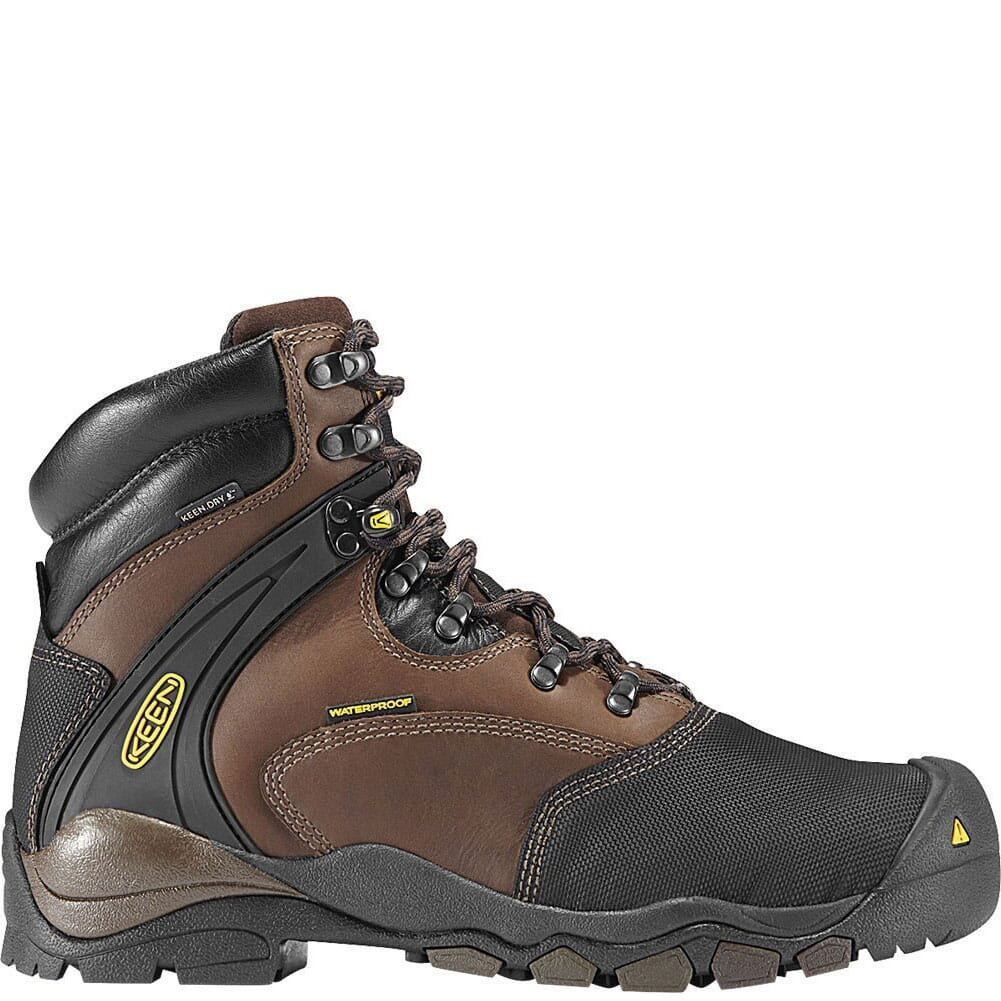 Image for KEEN Utility Men's Louisville 6IN Met Safety Boots - Slate Black from bootbay