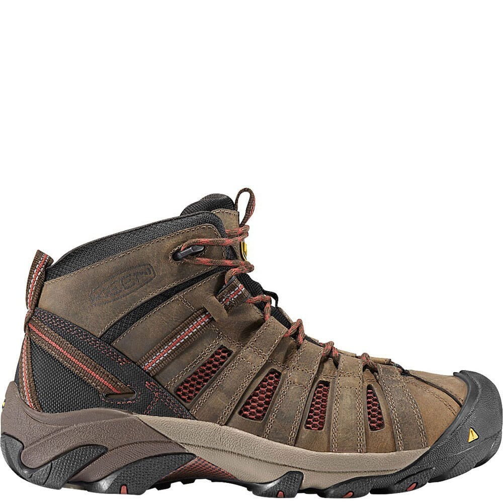Image for KEEN Utility Men's Flint Mid Safety Boots - Slate Black from bootbay
