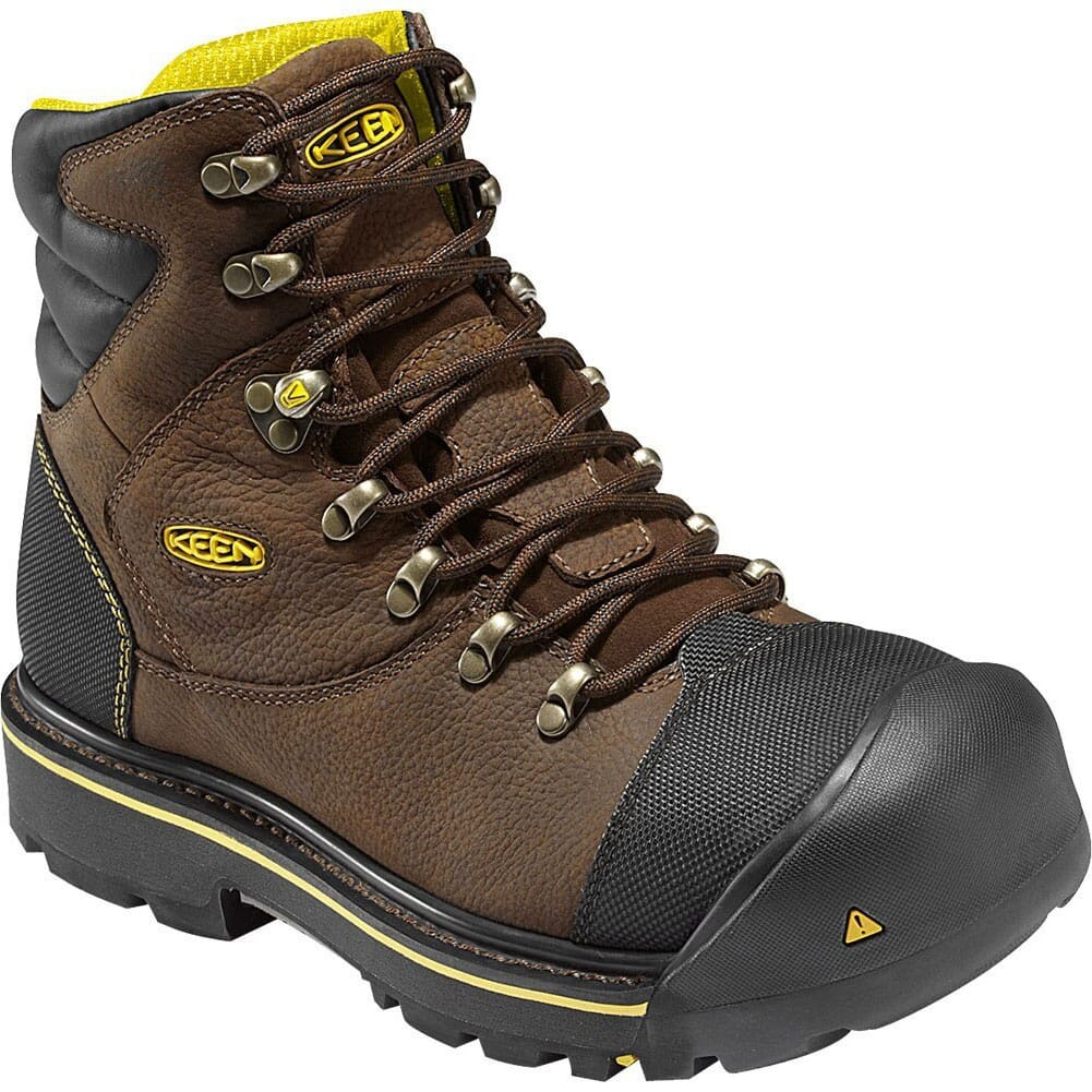 Image for KEEN Utility Men's Milwaukee 6IN Safety Boots - Slate Black from bootbay