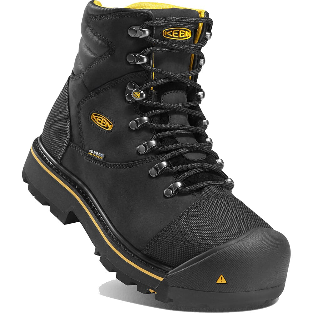 Image for KEEN Utility Men's Milwaukee WP Safety Boots - Black from bootbay