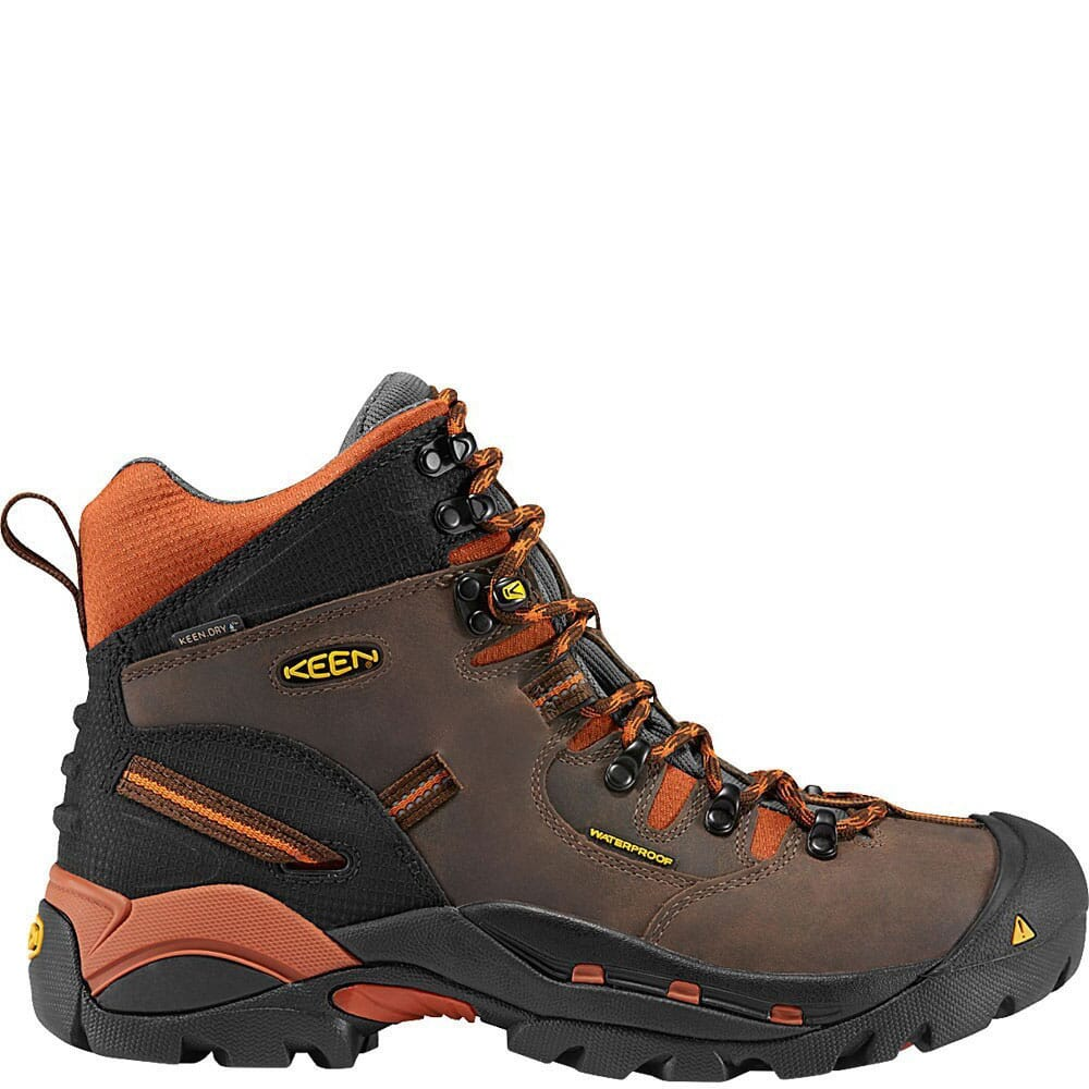 Image for KEEN Utility Men's Pittsburgh Work Boots - Cascade Brown from bootbay