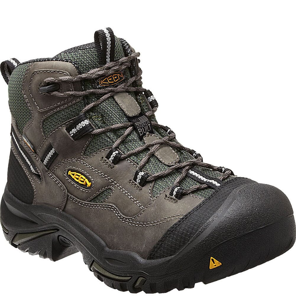 Image for KEEN Utility Men's Braddock Mid WP Safety Boots - Gargoyle from bootbay