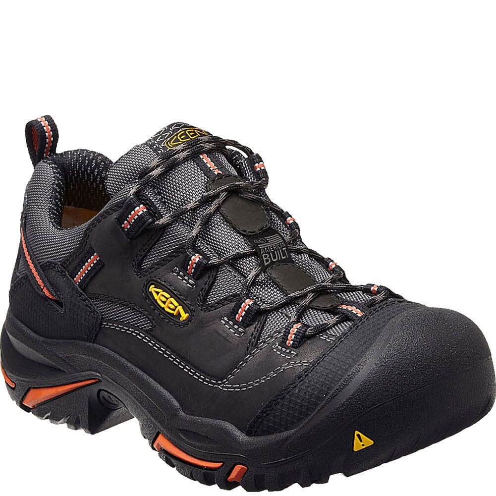 Image for KEEN Utility Men's Braddock Low Safety Shoes - Black from bootbay