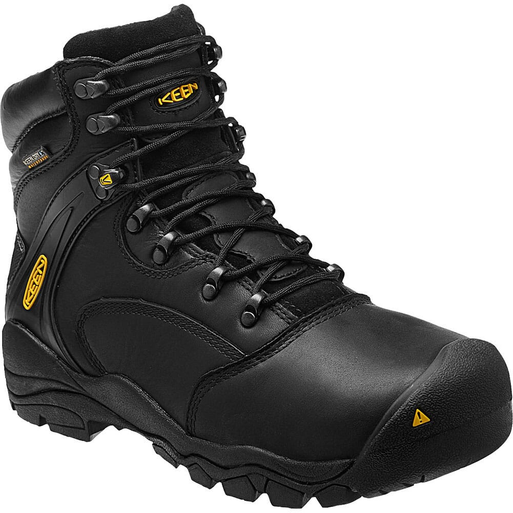 Image for KEEN Utility Men's Louisville WP Safety Boots - Black from bootbay