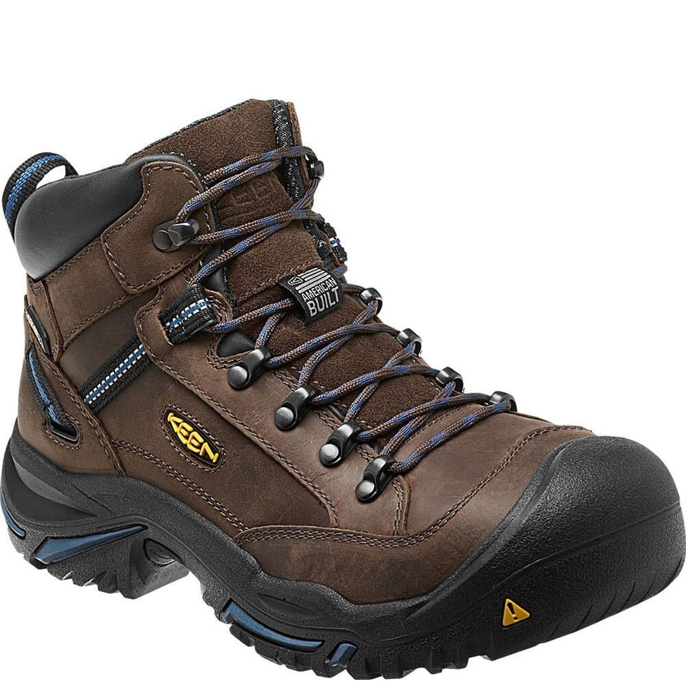 Image for KEEN Utility Men's Braddock Mid AL WP Safety Boots - Bison from bootbay