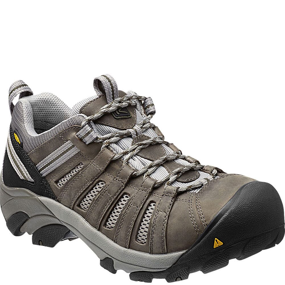 Image for KEEN Utility Men's Flint Low Safety Shoes - Gargoyle from bootbay