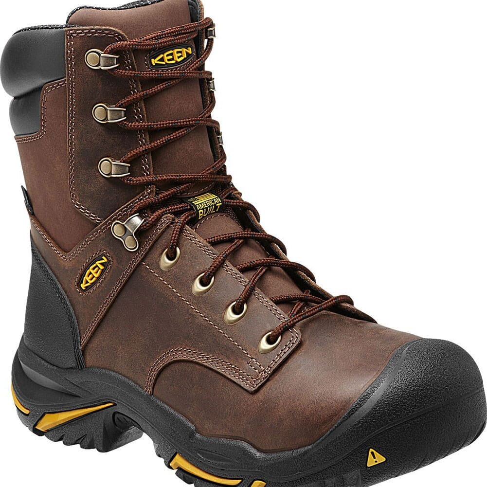 Image for KEEN Utility Men's Mt Vernon WP Safety Boots - Cascade Brown from bootbay