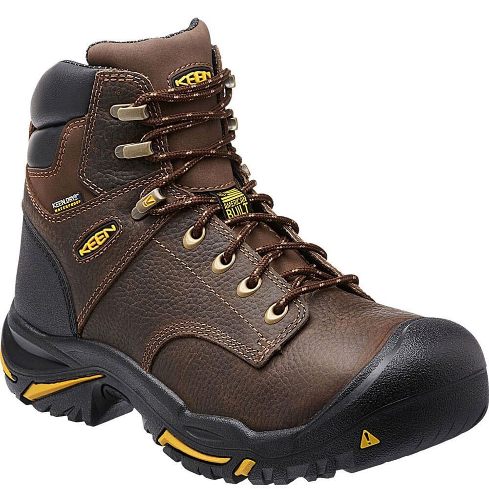 Image for KEEN Utility Men's Mt Vernon Work Boots - Cascade Brown from bootbay