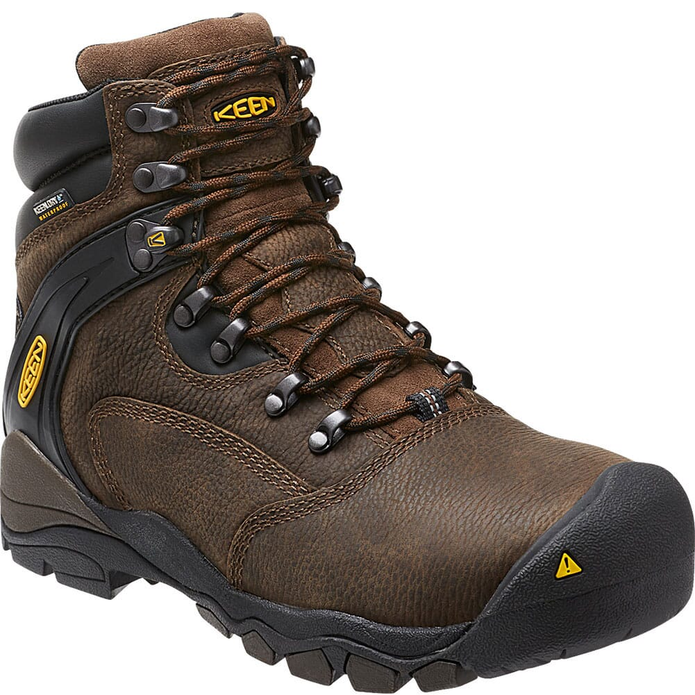 Image for KEEN Utility Men's Louisville WP Safety Boots - Cascade Brown from bootbay