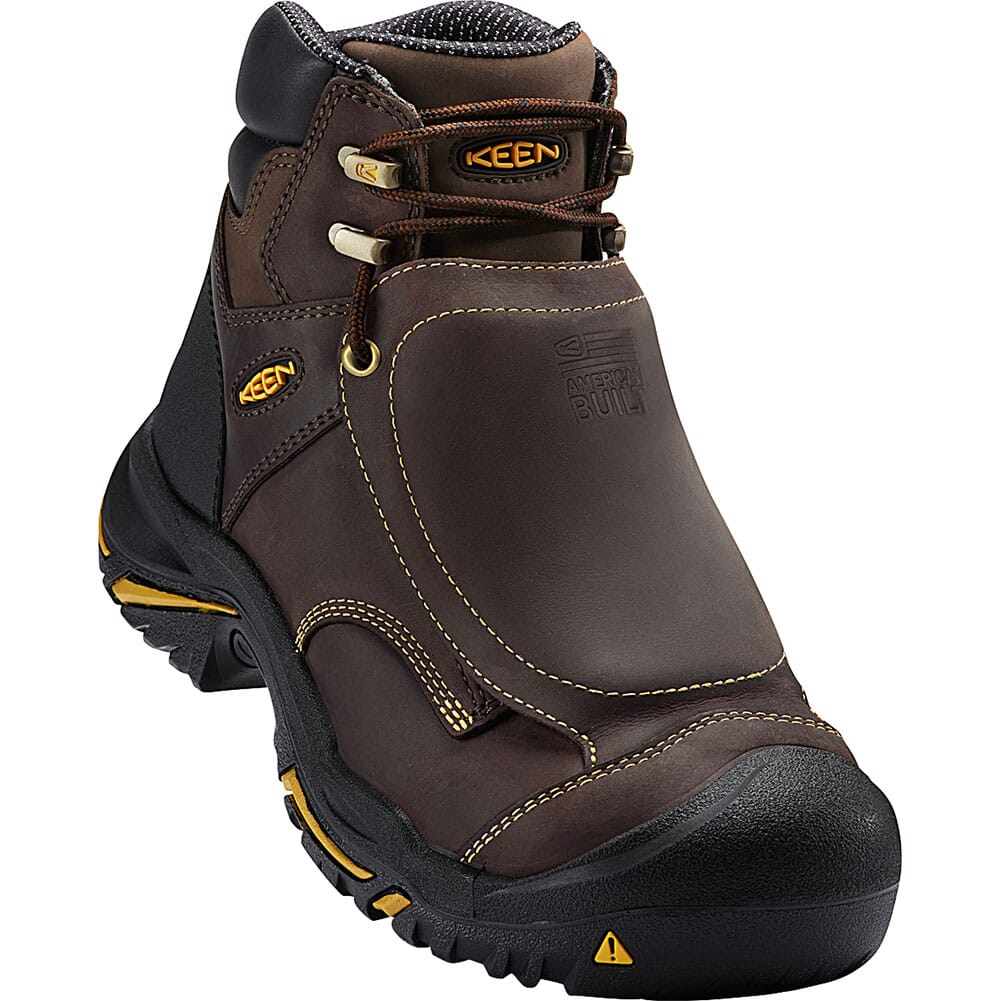 Image for KEEN Utility Men's Mt Vernon Met Safety Boots - Cascade Brown from bootbay