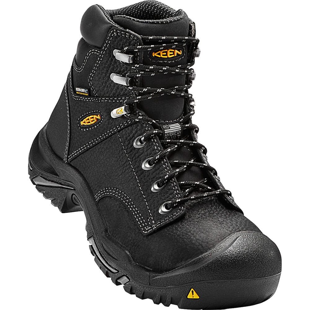 Image for KEEN Utility Men's Mt Vernon Safety Boots - Black from bootbay