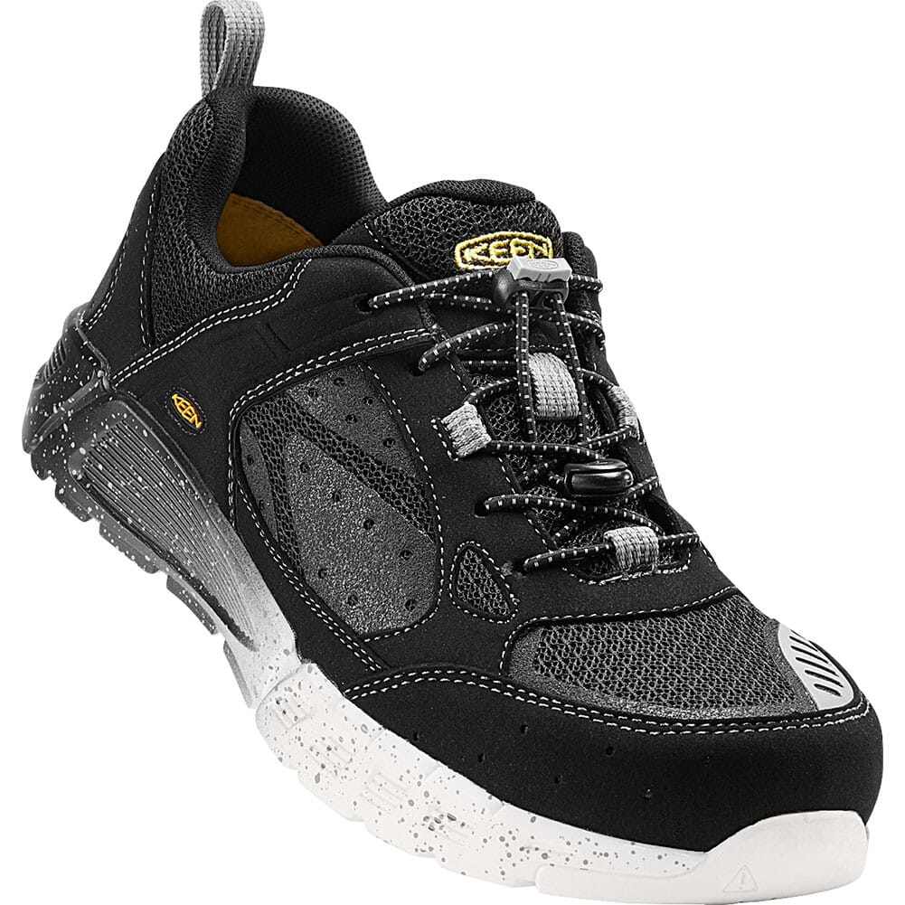 Image for KEEN Utility Men's Raleigh AT Safety Shoes - Black/Raven from bootbay